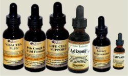 Image of our 4oz. Kennel Cough Gold Kit for dogs